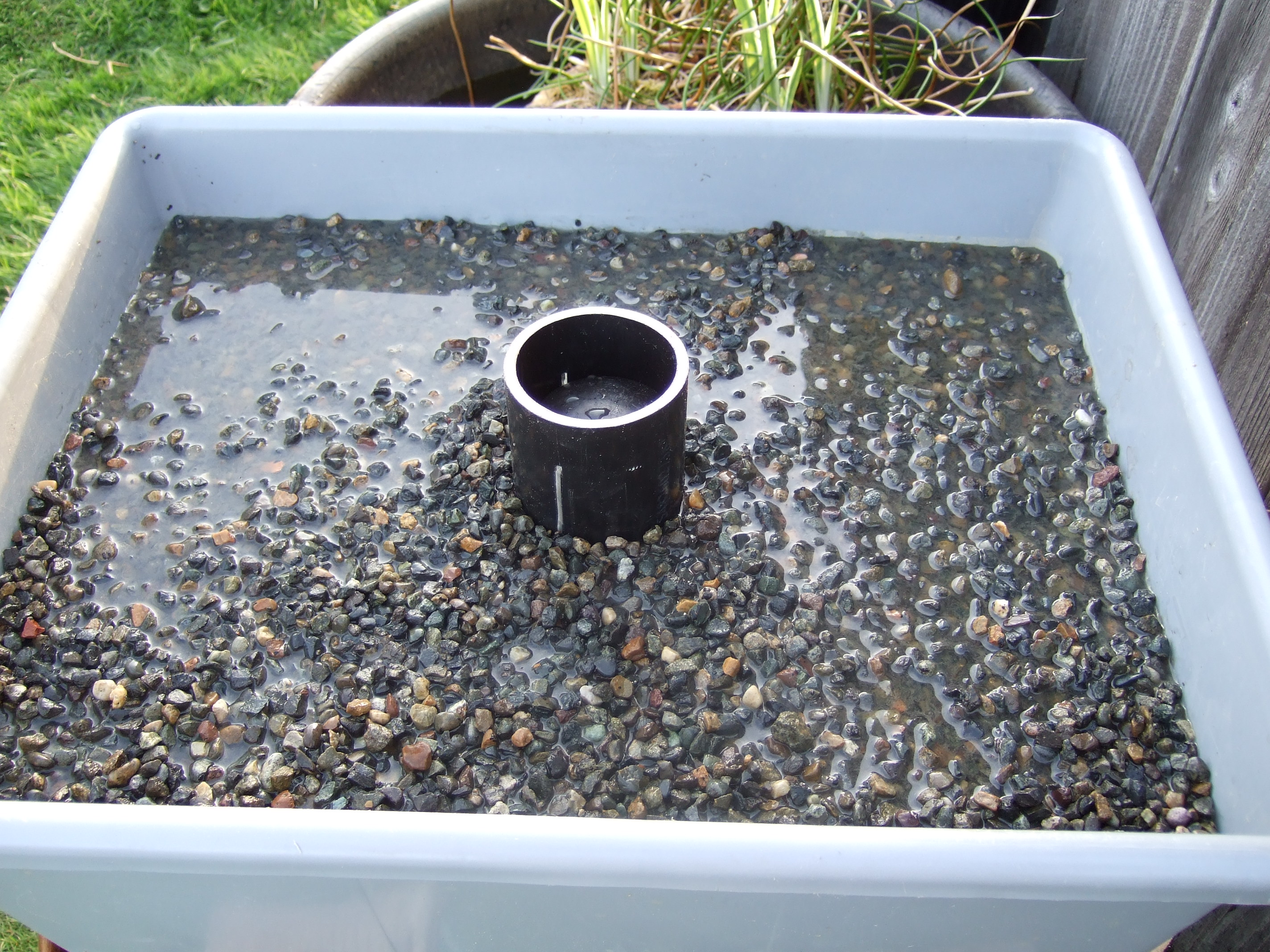 rubbermaid water trough