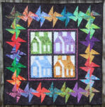 "Sampler with 6"" Square Dance Block border."